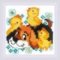 RIOLIS Best Friends Cross Stitch Kit
