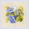 RIOLIS Purple Bindweed Floral Cross Stitch Kit