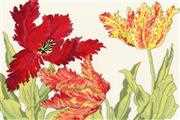 Bothy Threads Tulip Blooms Floral Cross Stitch Kit