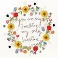 Bothy Threads Love Sunshine Cross Stitch Kit