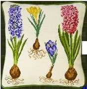 Bothy Threads Hyacinth and Crocus Floral Tapestry Kit