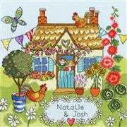 Bothy Threads Our House Cross Stitch Kit