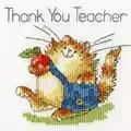 Bothy Threads An Apple for Teacher Card Cross Stitch Kit