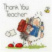 Bothy Threads Schools Out Card Cross Stitch Kit