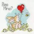 Bothy Threads Bee Mine? Card Cross Stitch Kit