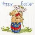 Bothy Threads Easter Teddy Card Cross Stitch Kit