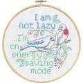 Permin Energy Saving Cross Stitch Kit