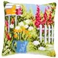 Vervaco In My Garden Cushion Cross Stitch Kit