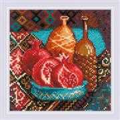 RIOLIS Pomegranates Cross Stitch Kit