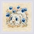 RIOLIS Little Bunny Cross Stitch Kit