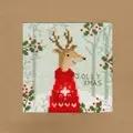 Bothy Threads Xmas Deer Christmas Card Making Cross Stitch Kit