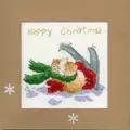 Bothy Threads Apres Ski Christmas Card Making Cross Stitch Kit