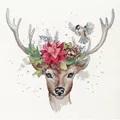Dimensions Woodland Deer Christmas Cross Stitch Kit