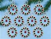 Design Works Crafts Ring in the Season Ornaments Christmas Craft Kit