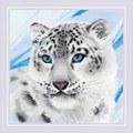 RIOLIS Snow Leopard Cross Stitch Kit