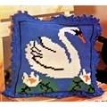 Gobelin-L White Swan Cushion Cross Stitch Kit