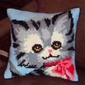 Gobelin-L Kitten Cushion Cross Stitch