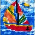 Gobelin-L Sail Boat Cross Stitch Kit