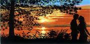 Gobelin-L Kiss at Sunset Tapestry Canvas