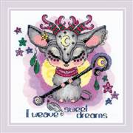 RIOLIS Good Souls - Moon Cross Stitch Kit