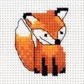 Klart Fox Cub Cross Stitch Kit