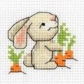 Klart White Rabbit Cross Stitch Kit