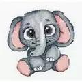 Klart Elephant Cross Stitch Kit