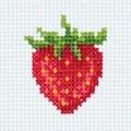 Klart Strawberry Cross Stitch Kit