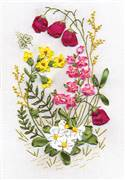 Panna Woodland Fantasy Floral Embroidery Kit