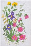 Panna Spring Meadow Floral Embroidery Kit