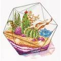 Panna Plant Terrarium Cross Stitch Kit