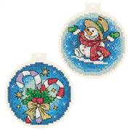 Panna Candy Cane Baubles Christmas Cross Stitch Kit