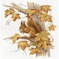 Panna Squirrel Cross Stitch Kit