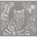 Panna Lace Fox Cross Stitch Kit