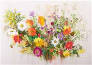 Panna The Colours of Summer Floral Embroidery Kit