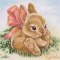 Panna Baby Bunny Embroidery Kit