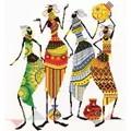 Panna Tribal Friends Cross Stitch Kit