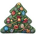 Panna Christmas Tree Pillow Cross Stitch Kit