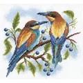 Panna Bright Birds Cross Stitch Kit