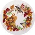 Panna Autumn Wildlife Wreath Cross Stitch Kit