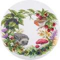 Panna Summer Wreath Cross Stitch Kit