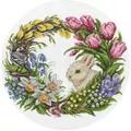Panna Spring Wreath Cross Stitch Kit