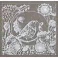 Panna White Lace Bird Cross Stitch Kit