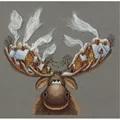 Panna Christmas Moose Cross Stitch Kit