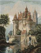 Panna Castle in the Mountains Cross Stitch Kit
