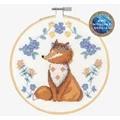 DMC Folk Fox Cross Stitch Kit