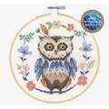 DMC Folk Owl Cross Stitch Kit