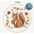DMC Folk Squirrel Cross Stitch Kit