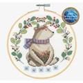 DMC Folk Bear Cross Stitch Kit