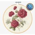 DMC Roses Cross Stitch Kit